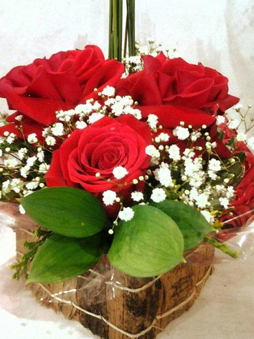 Coração de rosas especiais
