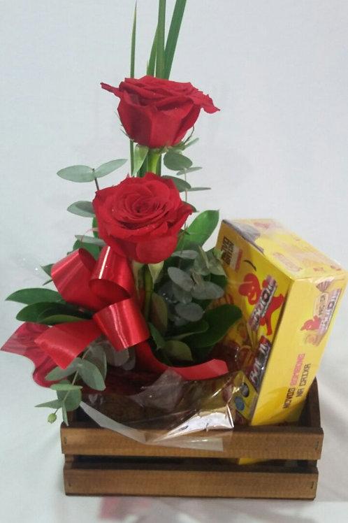 Arranjo com rosas especiais