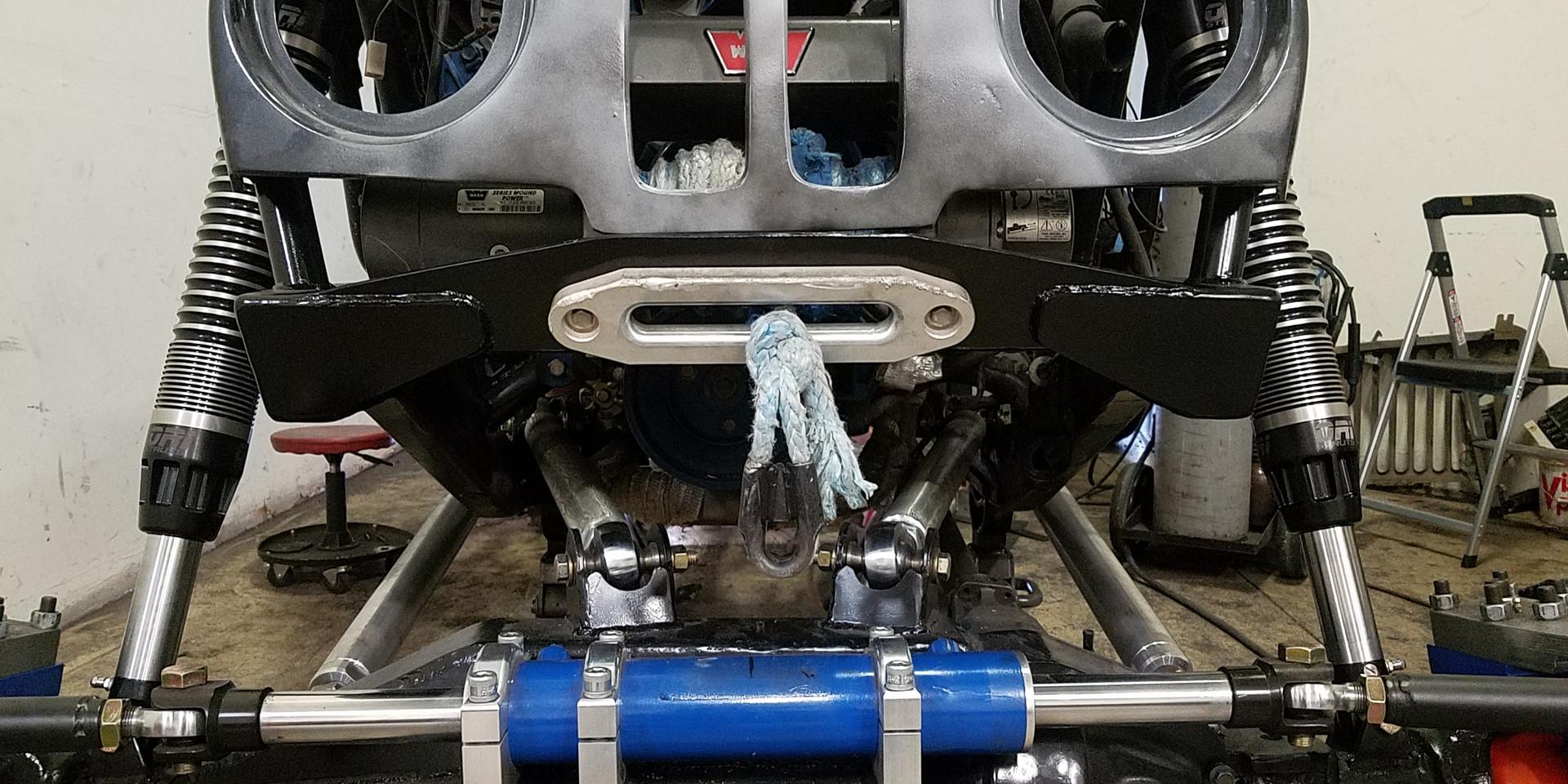 Custom suspension