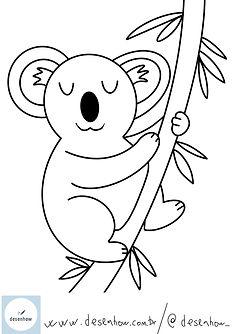 desenhow-blogdesenhow-coala-desenhospara