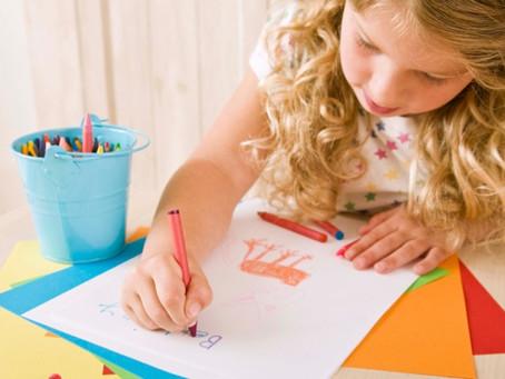 Incentivar o desenho melhora o desenvolvimento infantil