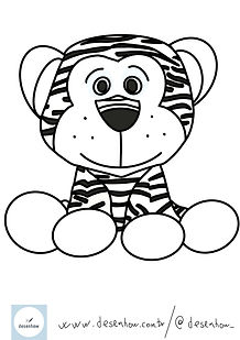 tigre_animaisparapintar_animaisparacolor