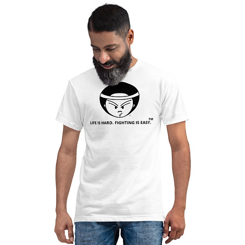Fighting is Easy Sustainable White Tee
