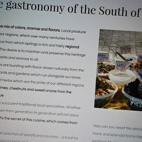 Vins et Gastronomie