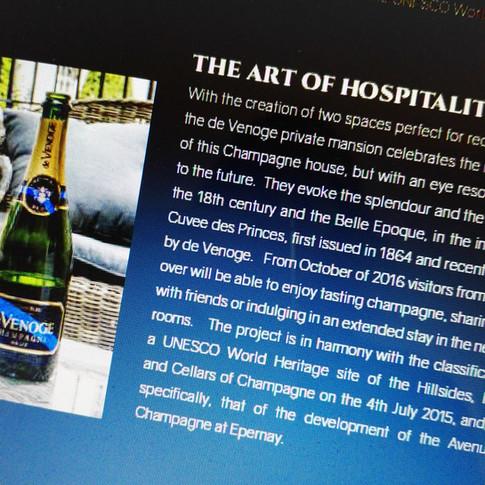 Maisons de Champagne et Oenotourisme