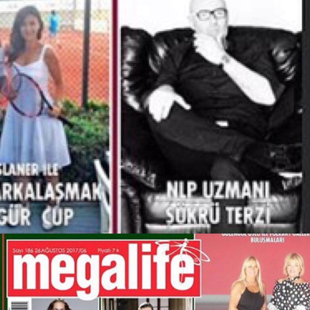 Megalife Dergisi 2017 Ağustos Sayısı Röportajından