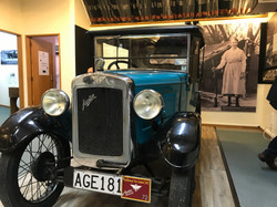 We Drove Here: Cromwell Museum