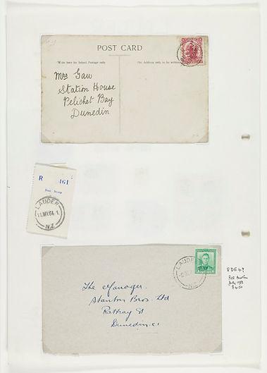 Lauder Post Office S21-529b MS-3888-031-