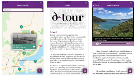 Museograph Co-designs Dunedin City of Literature App