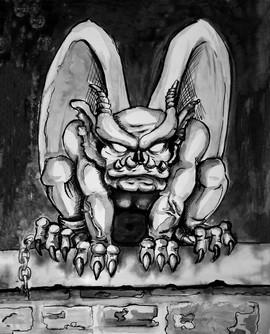 Gargoyle 8 x10 Print