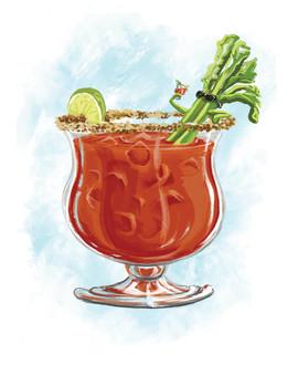 Caesar Drink 8x10 Print