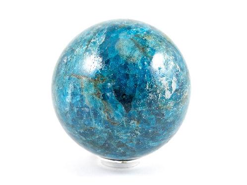 Sphère Apatite bleue 59mm