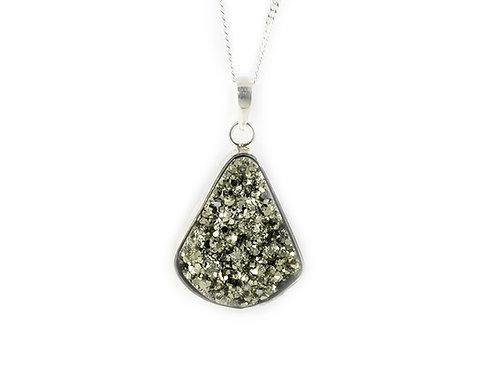 Pendentif Pyrite ref: PPY4
