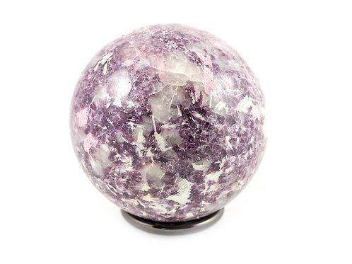 Sphère Lépidolite 72mm ref: SLE5