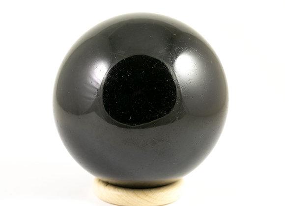 Sphère Tourmaline noire 79mm