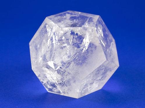 Dodécaèdre Cristal de roche