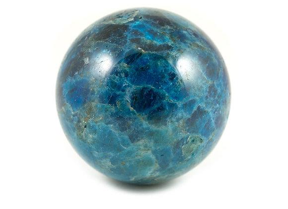 Sphère Apatite bleue 60mm