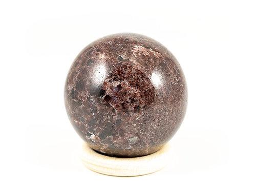 Sphère Grenat 55mm