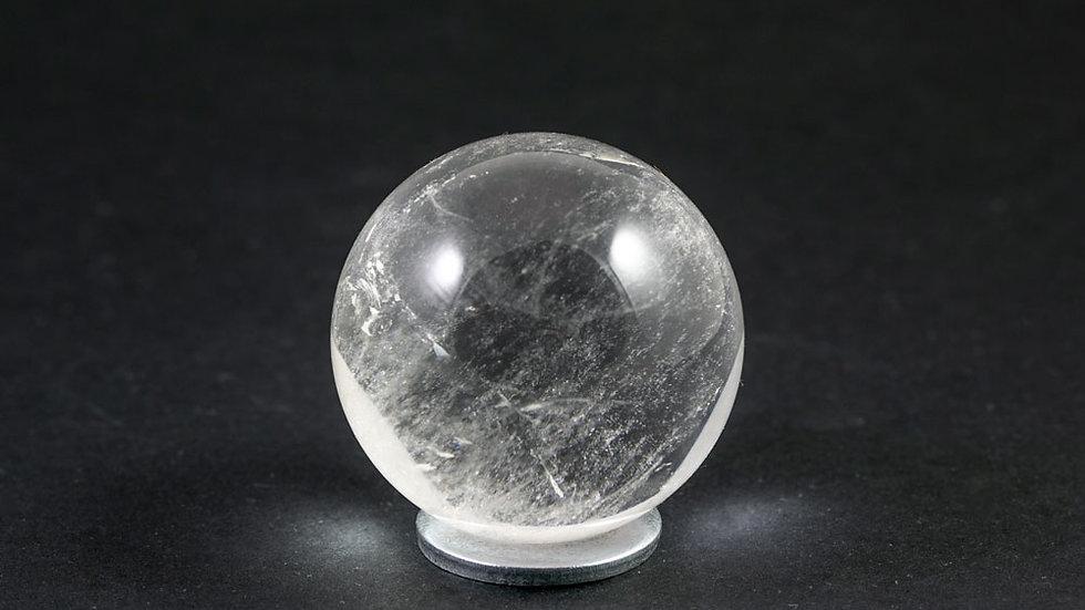 Sphère Cristal de roche 40mm