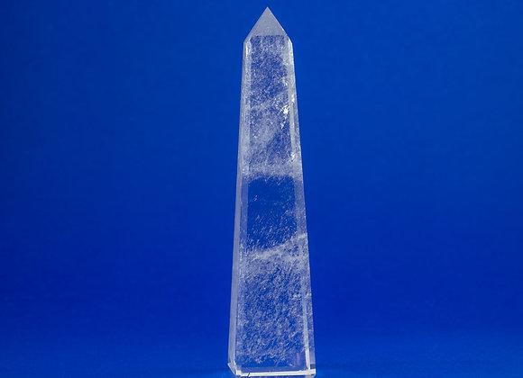 Obélisque cristal de roche ref: OL1