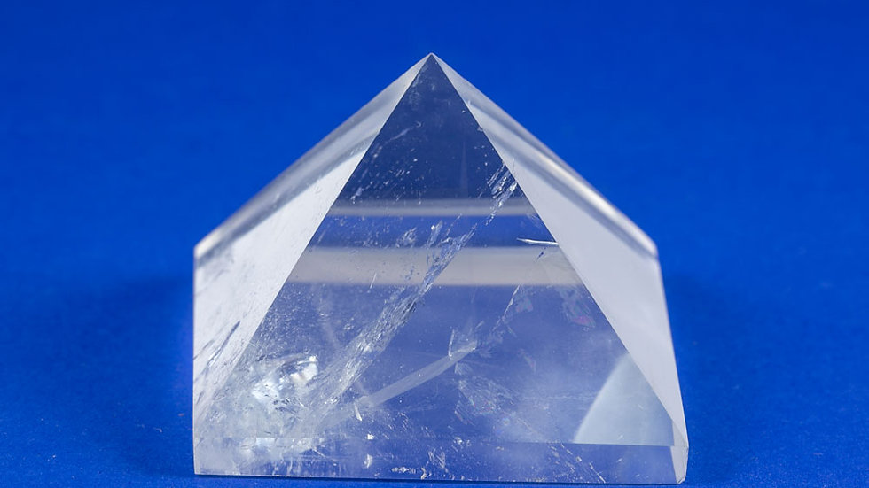 Pyramide Cristal de roche ref: Pyra3