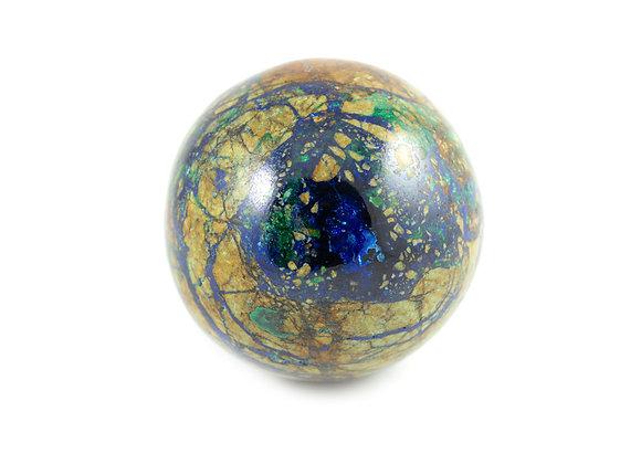 Sphère Azurite-Malachite 53mm ref: Sam2