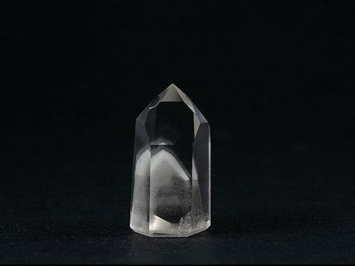 Quartz fantôme pointe polie ref: PQF3