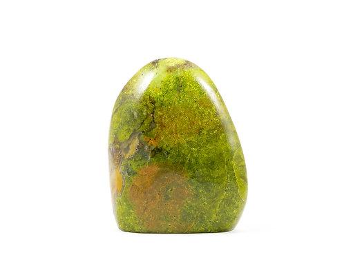Opale verte forme libre ref: ovb4