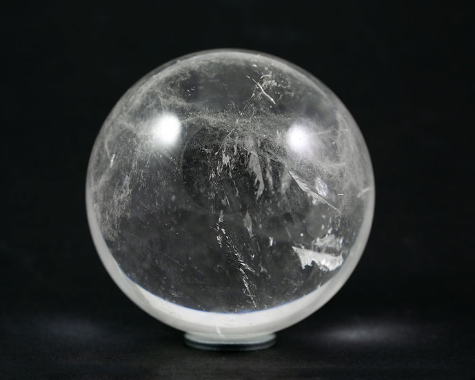 Sphère Cristal de roche 74mm