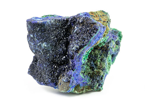 Azurite-malachite brute ref: Amb2