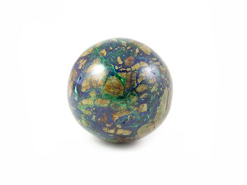 Sphère Azurite-Malachite 45mm ref: Sam4
