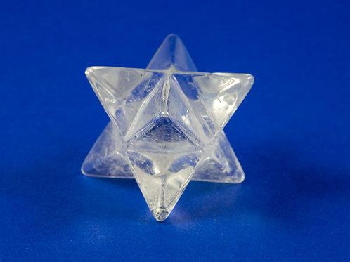 Merkaba Cristal de roche ref: MK10
