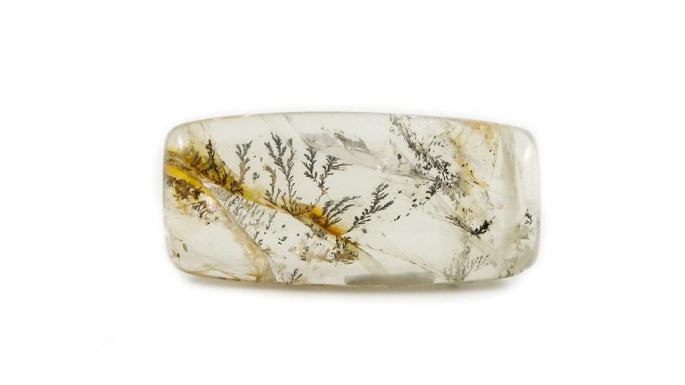 Cabochon quartz dendritique ref: QD2