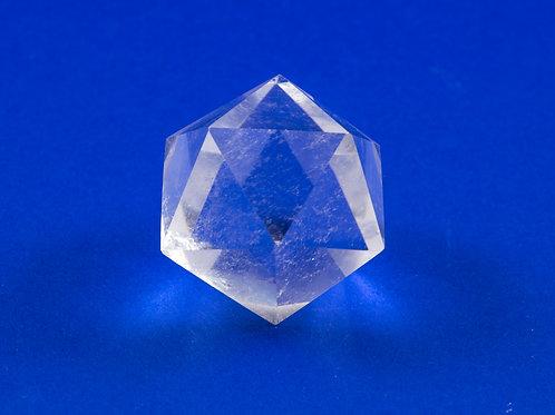 Icosaèdre Cristal de roche ref: Ico1