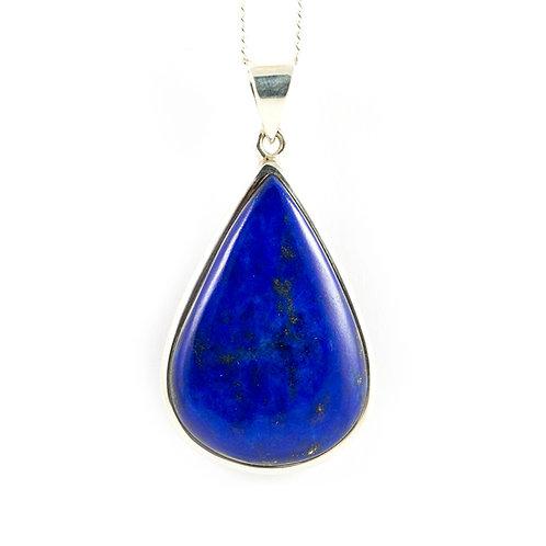 Pendentif Lapis-lazuli cabochon ref: LL3