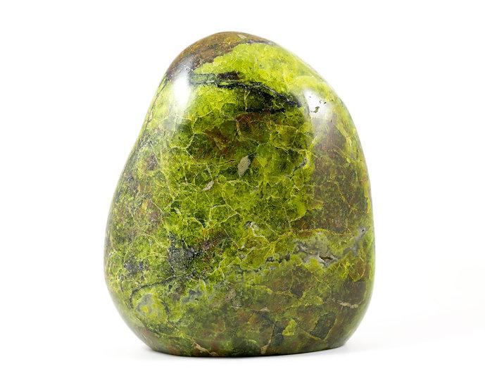 Opale verte forme libre ref: ovb3