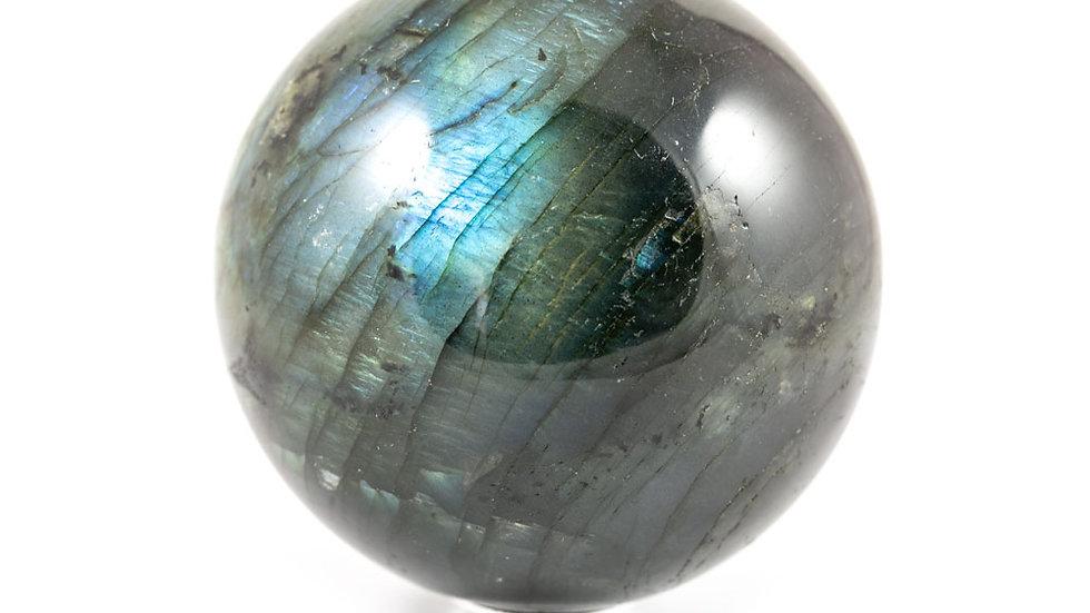 Sphère Labradorite 72mm