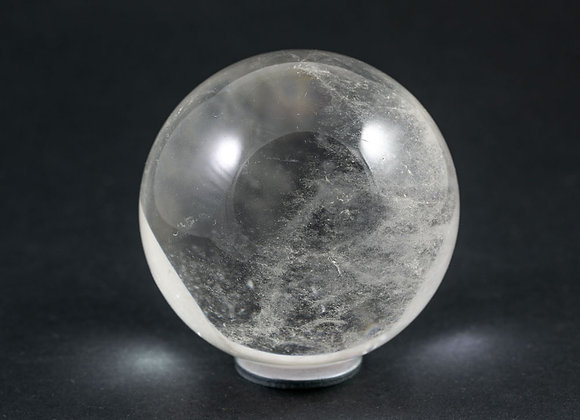 Sphère Cristal de roche 59mm