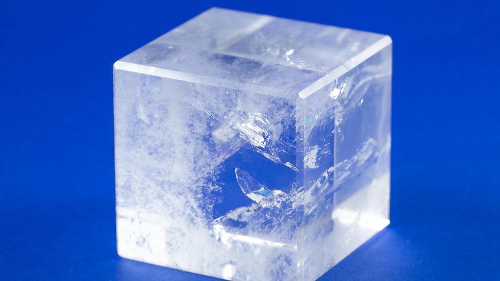 Cube Cristal de roche ref: CC2