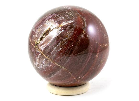 Sphère Bois fossile 72mm