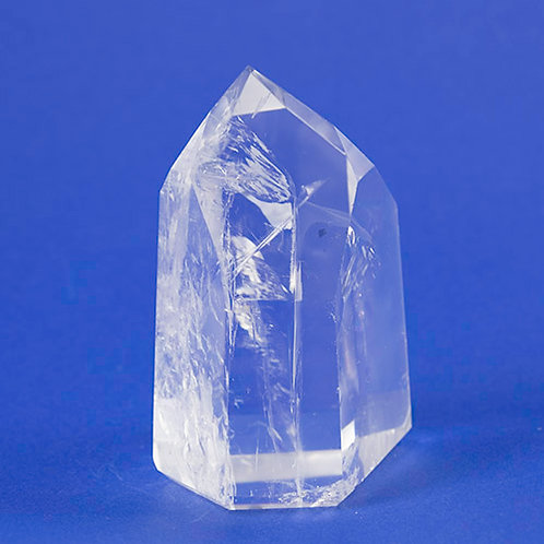 Pointe polie Cristal de Roche ref: PCR10