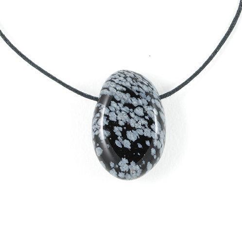 Pendentif Obsidienne neige ref: ppr1