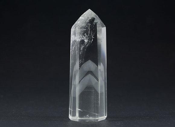 Quartz fantôme pointe polie ref: PQF19