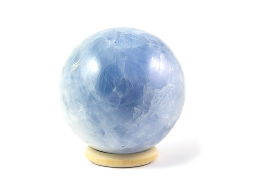 Sphère Calcite bleue 68mm