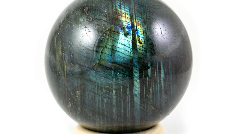 Sphère Labradorite 87mm