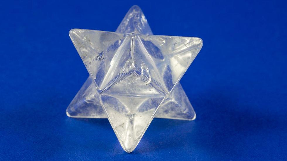 Merkaba Cristal de roche ref: MK11
