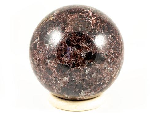 Sphère Grenat 87mm