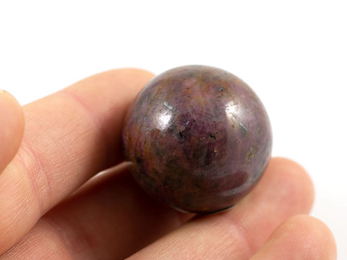 Sphère Rubis 31mm
