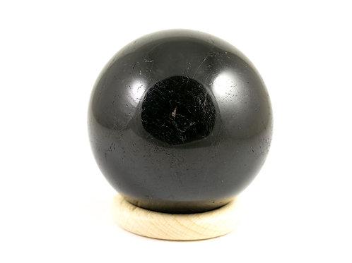 Sphère Tourmaline noire 58mm