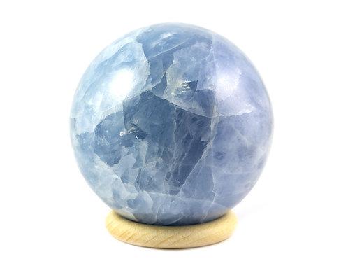 Sphère Calcite bleue 86mm